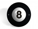 Pool Ball No8